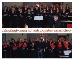 Castlebar Gospel Choir. Photo courtesy of Gerry Ryder